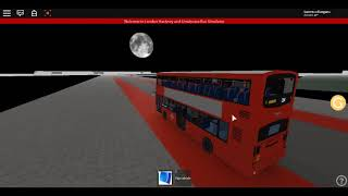 Roblox Londra Hackney & Limehouse bus Simulatore Wright Pulsar DAF ancora utilizzare Route 254 Estate 2017