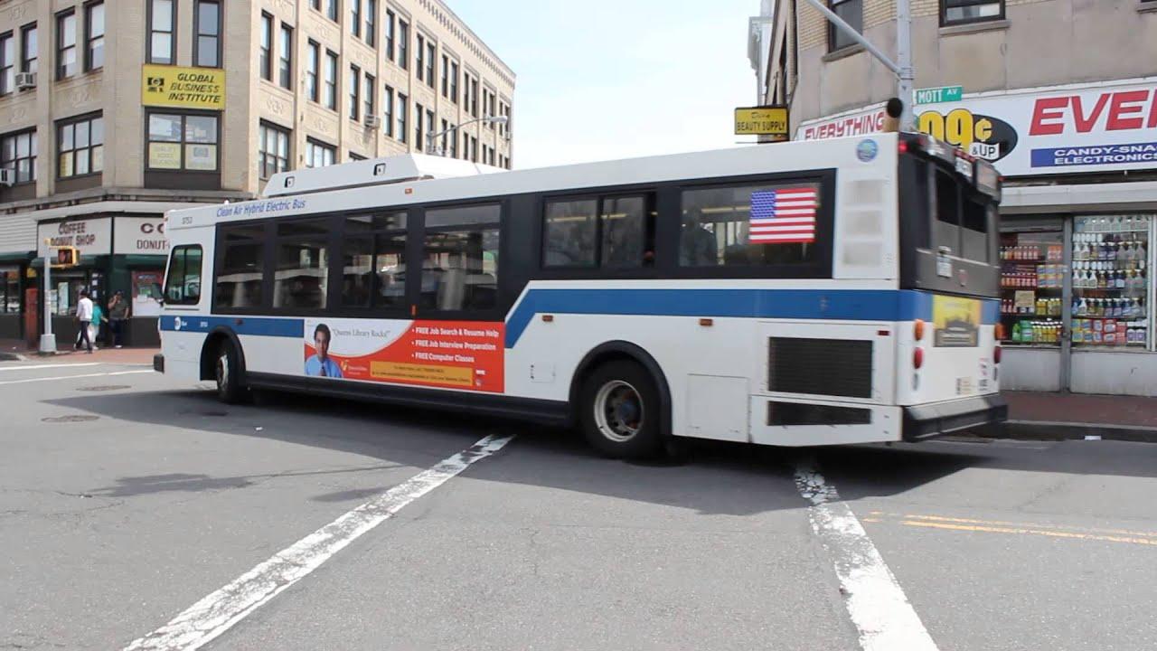 MTA Bus: 1996 Nova-RTS #9005 & 2015 New Flyer XD40 #7444 Q23 Buses ...
