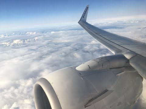 Ryanair | Hamburg-London Stansted |  737-800 |  Full Flight