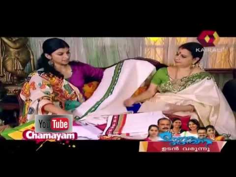 Chamayam  Mural Paintings Sarees  Latest Jewellery Collection | 17th April 2015  | Full Episode
