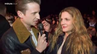 Drew Barrymore Gets Political At New York Fashion Week