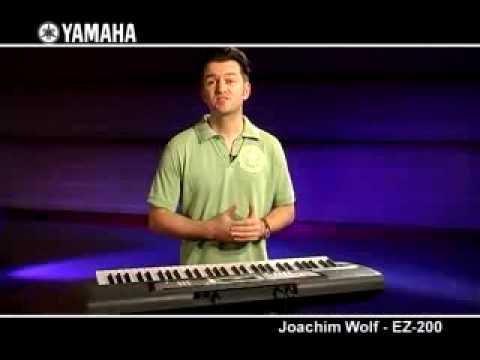 Yamaha EZ200 Keyboard