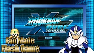 Rockman Xover Reborn [PC] - Flash Game by ultimatemaverickx | Accel Gameplay!