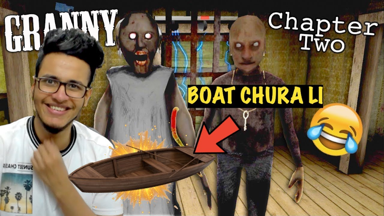 Download Granny (Chapter 2) Horror Game | Granny ki Boat Chura li😂