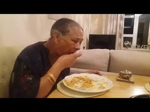 Maa mishti and curry