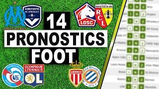 14 PRONOSTICS FOOT GRATUIT / 17-18 OCTOBRE / LOTOFOOT / PARIS SPORTIFS