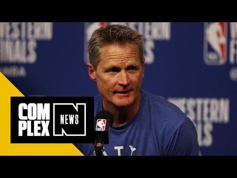 Steve Kerr Blasts NFL for National Anthem Policy