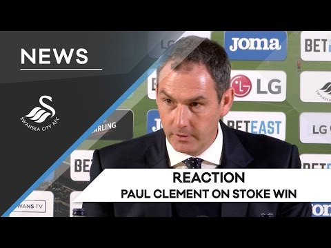 Swans TV – Reaction: Paul Clement on Stoke win