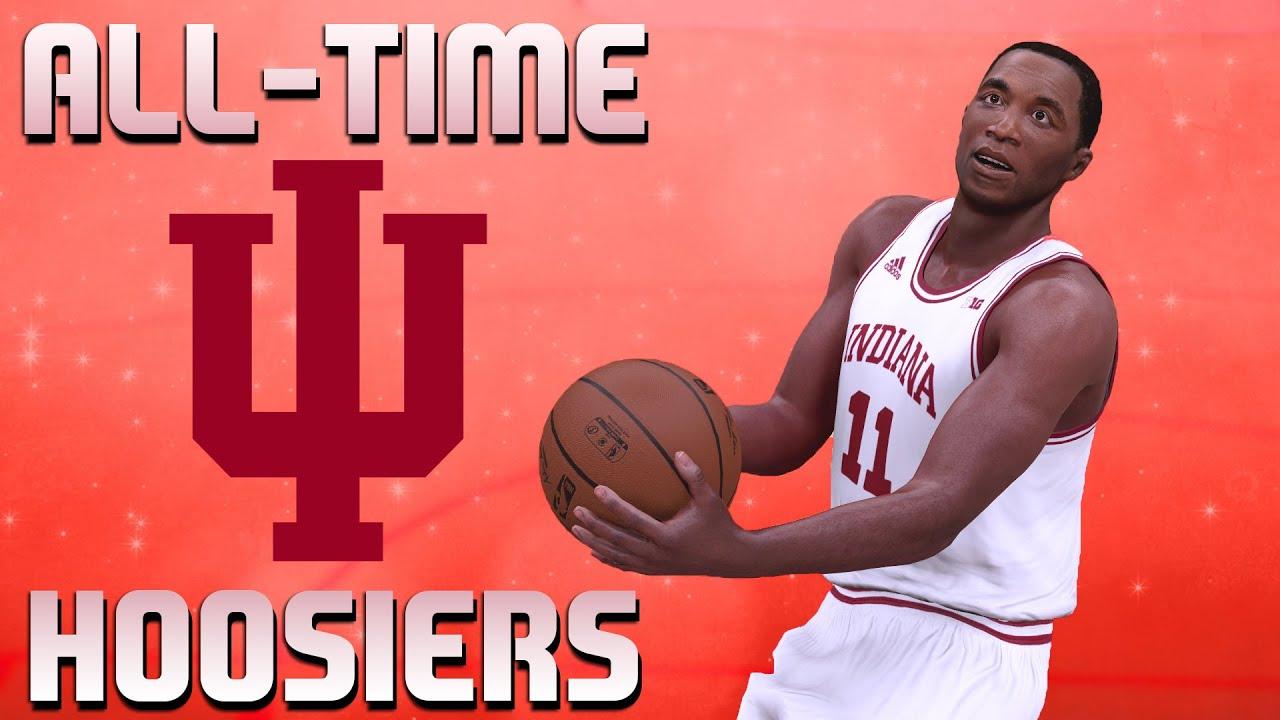big sale 62bb4 c2872 All-Time Indiana Hoosiers Team - Isiah Thomas & Victor Oladipo - NBA 2K16  MyTeam