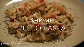 Worldofumeh | Shrimp Pesto Pasta Recipe