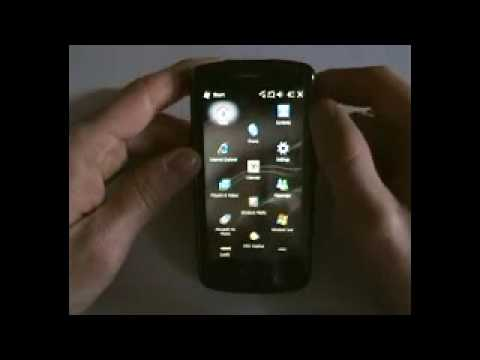 Video anteprima Windows Mobile 6.5 su HTC Touch HD