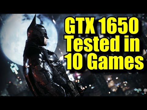 GTX 1650 OC in 10 Games | 1080p | FRAME-RATE TEST