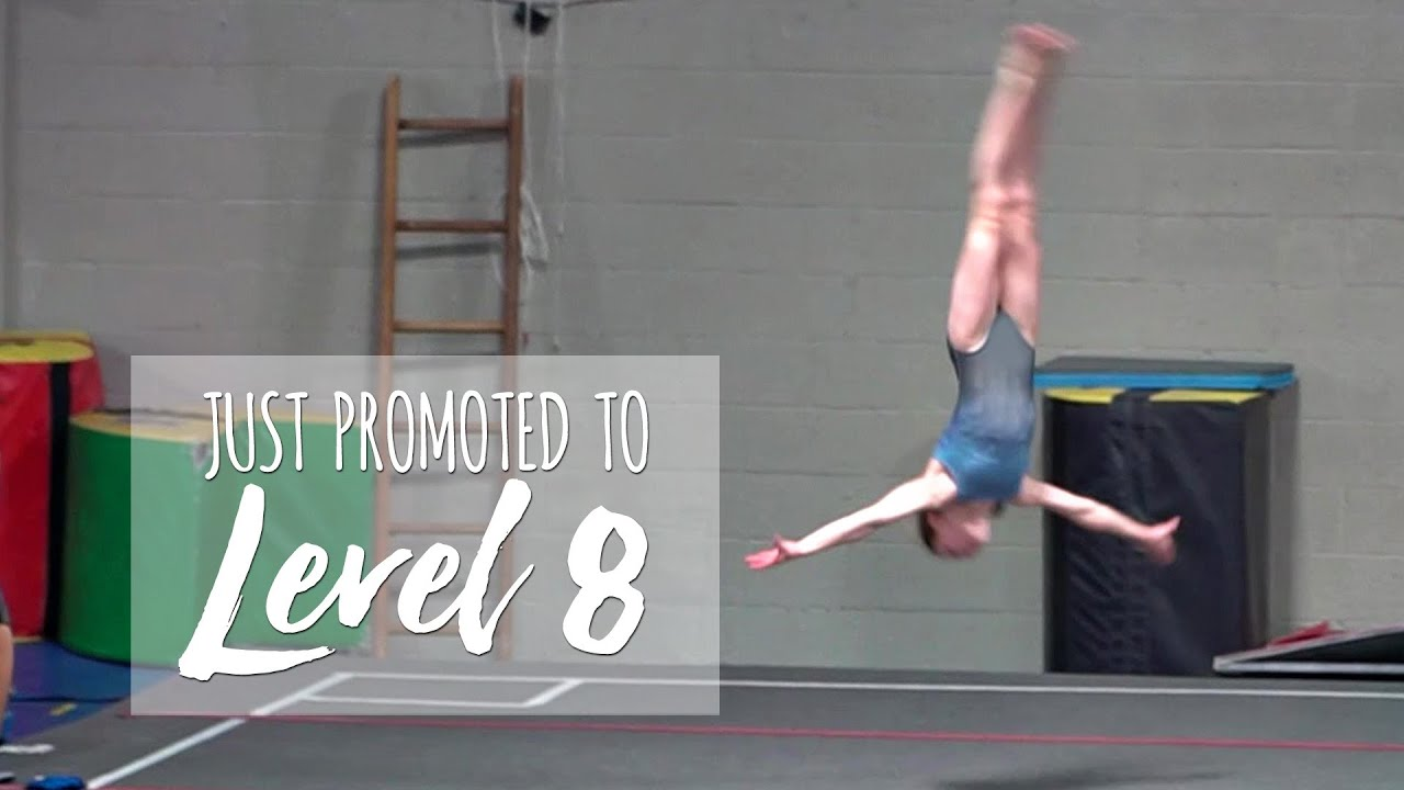 Just Promoted to Level 8