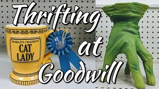 Thrifting at Goodwill+Awesome Home Decor Haul-Project Thrift 52 Week 41