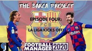 Fm20 | fc barcelona episode four la liga kicks off!