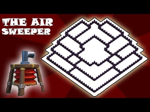 Clash of Clans   Town Hall 9 Hybrid Base   The Air Sweeper   New Update   TH9   TH 9