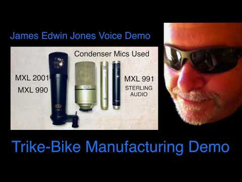 VOICE-OVER DEMO 1 - TRIKE BIKE MANUFACTURING - James Edwin Jones