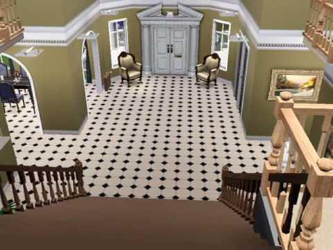 sims 3 mansion huge nice great 2 modern estates house           .wmv