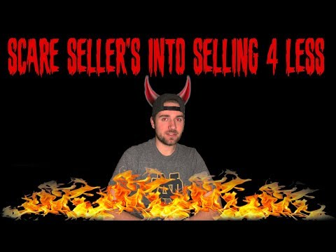 Scaring Sellers To Sell Their House At A Discount (DIRTY Secret)