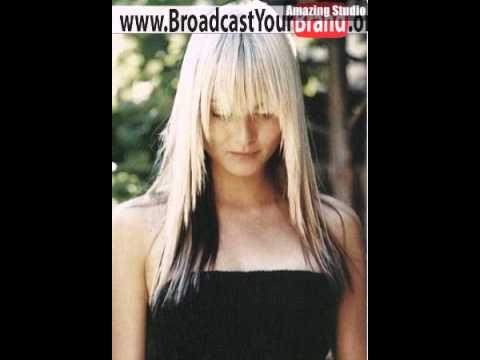 Blonde haare mit schwarz