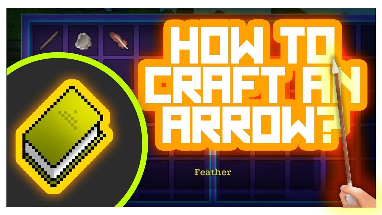 Video AdventureCraft #GameTutorials - How to Craft Weapons? (Arrow crafting)