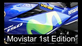 Y15ZR 1st Movistar Edition Walkaround