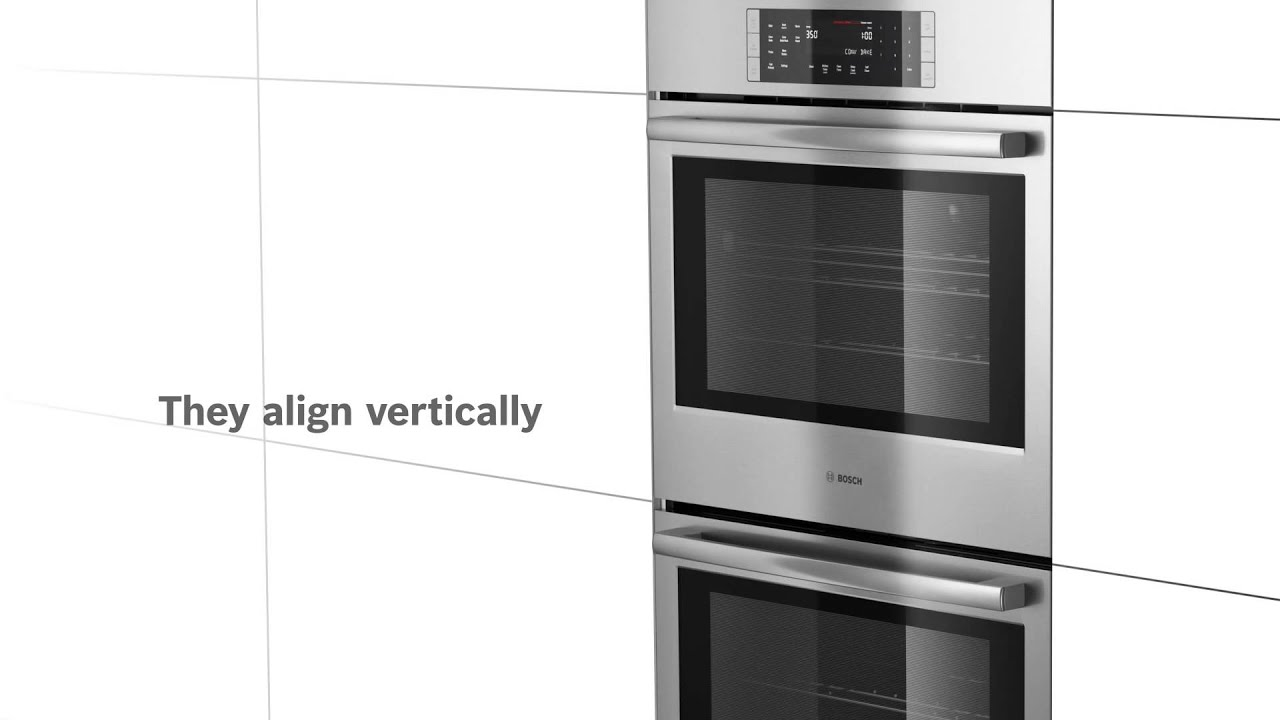 hight resolution of bosch built in wall ovens