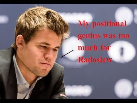 Magnus Carlsen has lost an amazing! game