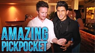 Amazing Pickpocket Magic! Unseen Footage!