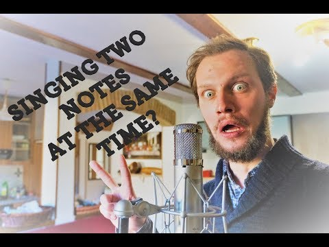 Two notes AT THE SAME TIME while singing? - Overtone singing | Major 7even