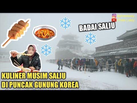 jajanan-musim-salju-di-puncak-gunung-korea-|-ada-badai-salju
