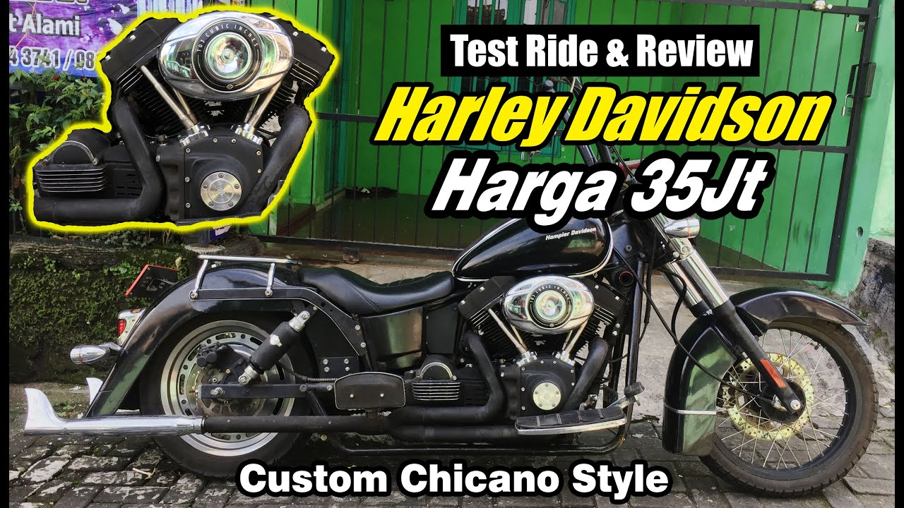 Harley Davidson Buatan Indonesia? Seharga Nmax/Ninja ...
