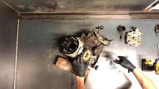 Scrambler Sportsman Top End Rebuild   -   Piston Cylinder Head Reed Valve Kit