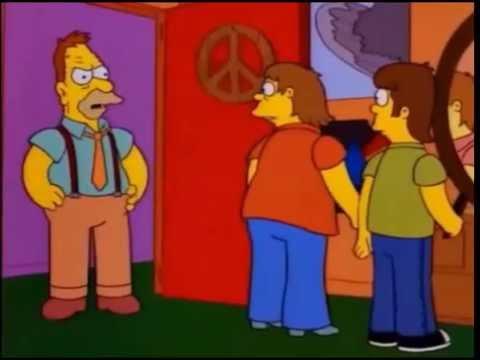 Homero rockeando de joven, forever!, forever! - Los Simpson - YouTube