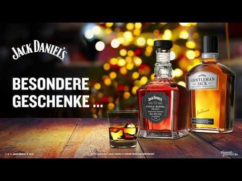 Geschenke von JACK DANIEL'S: Gentleman Jack oder Single Barrel.