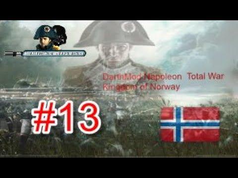 🔴  Darthmod 2.65 ⚔ Napoleon Total War Kingdom of Norway #13⚔