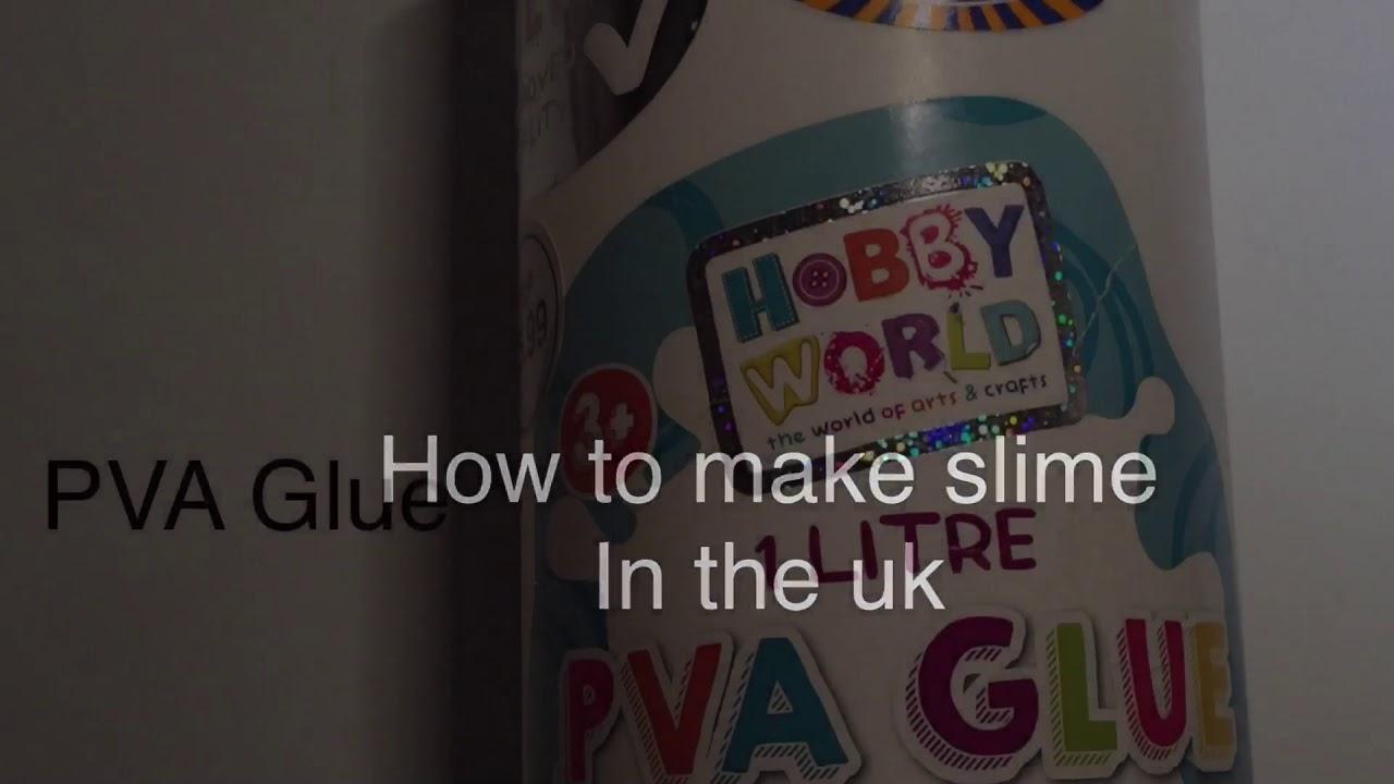 how to make slime in the uk youtube. Black Bedroom Furniture Sets. Home Design Ideas