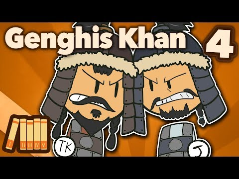 Genghis Khan - Khan of All Mongols - Extra History - #4