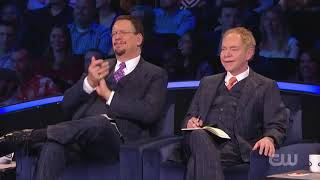 HILARIOUS Magician FOOLS Penn & Teller With The Craziest Magic Trick EVER!