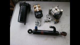 комплект для установки гидроусилителя руля (гур )