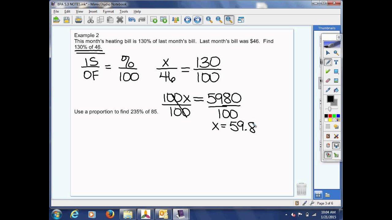 8th Grade Pre Algebra 5 3 Video Lesson
