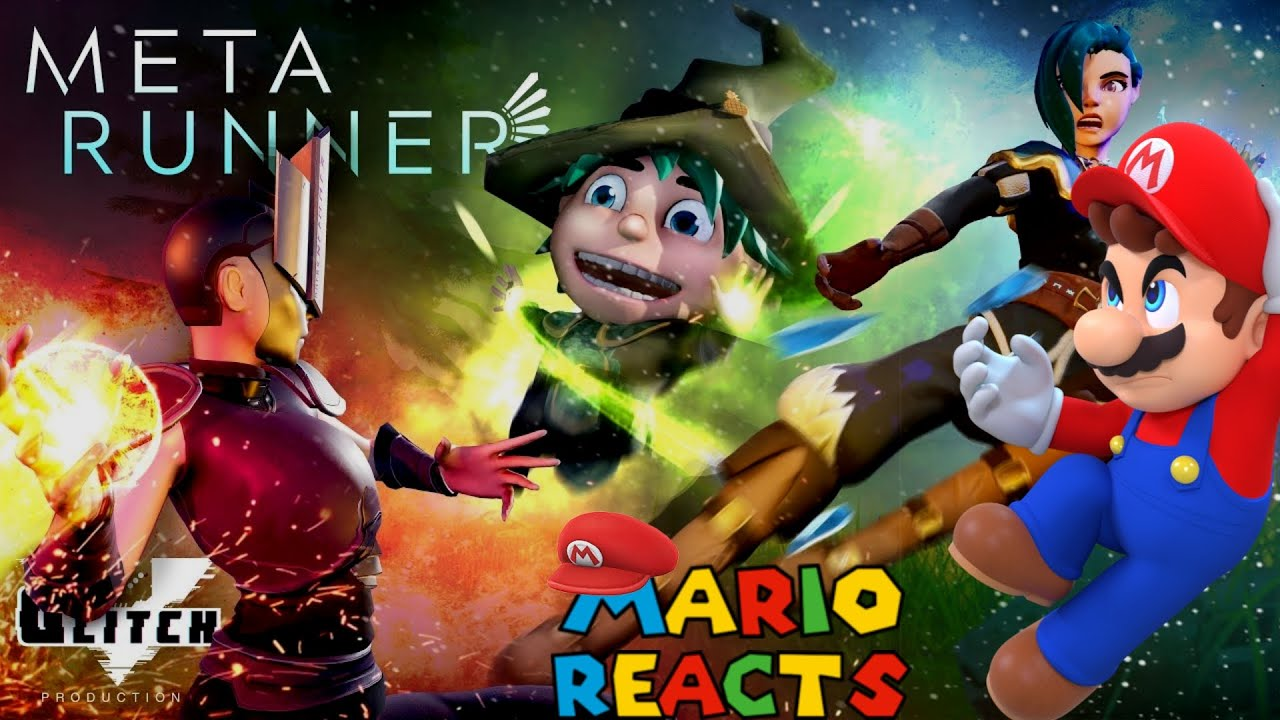 Run For Your Lives | Mario Reacts To META RUNNER - Season 1 Episode 9: The Run