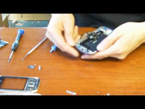 Sprint Samsung Moment Disassembly