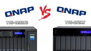 QNAP TVS-872XT vs TVS-1282T3 Thunderbolt 3 NAS Comparison