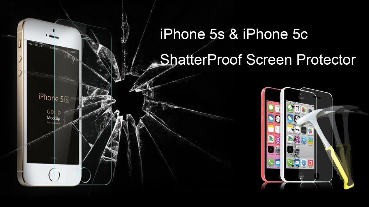 buy my iphone shatterproof screen protector hammer test iphone 5s 5c 10323