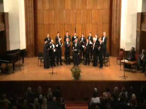 Belgrade male choir - It is truly meet, byzantine chant