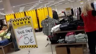 Суперскидки на одежду финских марок: Hintaralli- Luhta, IcePeak, Skila...