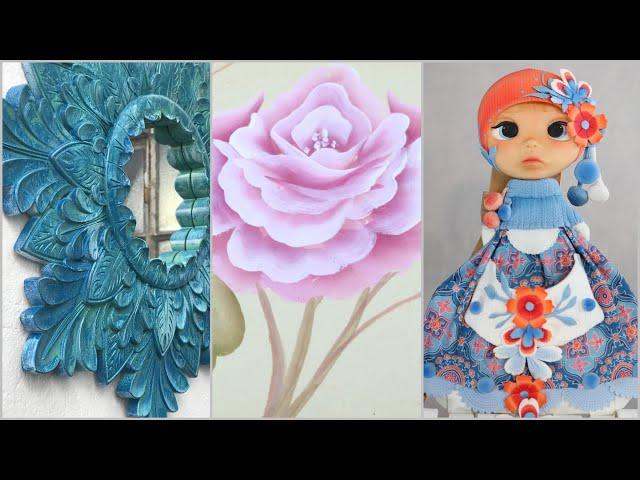 ManosalaObraTv 2019 Programa 41 - Modelado en Porcelana - Pintura en Aerosol - Pintar Rosas