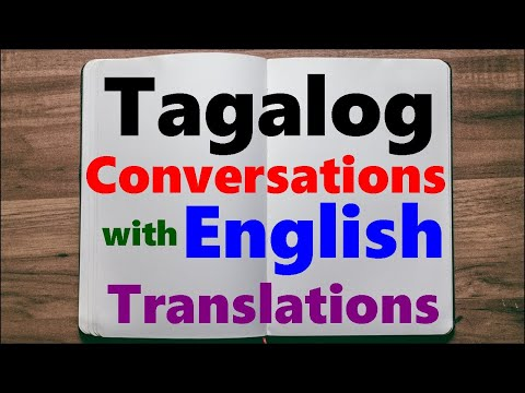 Learn Tagalog - Simple Conversation on Meeting Someone