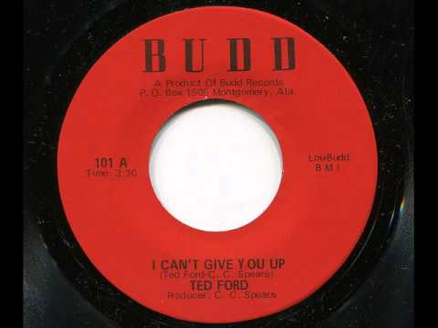 TED FORD - I can't give you up - BUDD